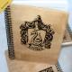 Деревянный блокнот Слизерин. Что подарить на Новый Год, День Рождения, праздник
