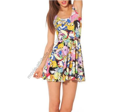 Платье для девушки Adventure Time