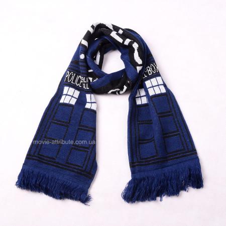 Шарф Тардис. Доктор Кто. Doctor Who