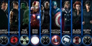 Тор, Железный человек, Мстители, Щит