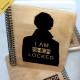 Деревянный блокнот I am Sherlocked Шерлок. Что подарить на Новый Год, День Рождения, праздник