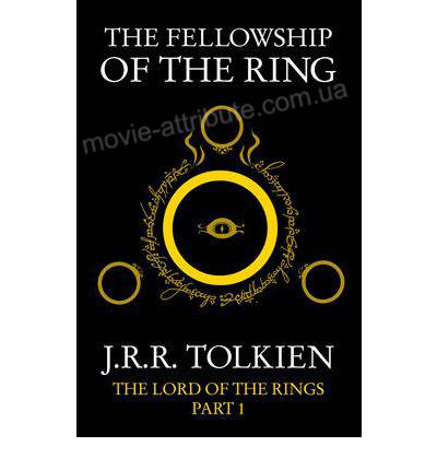 Книга Властелин Колец Братство кольца на английском