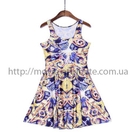 Купить сарафан платье взрыв Тардис