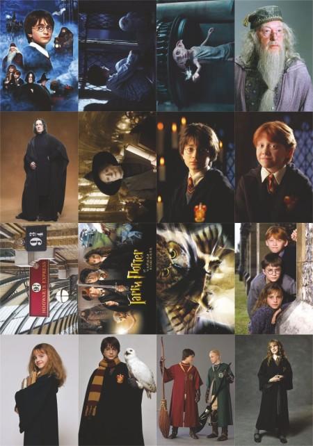 Купить наклейки Гарри Поттер в Украине