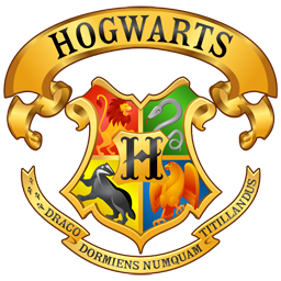 Эмблема герб школы Хогвартс