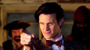 Красная бабочка одиннадцатого Доктора