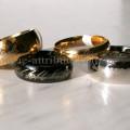 Кольцо Всевластия серебро, черное, золотое