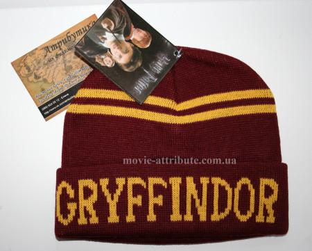 Шапка Гриффиндор с надписью, теплая