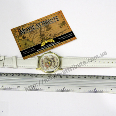 Хогвартс часы белый ремень