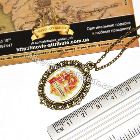 Кулончик с эмблемой Gryffindor