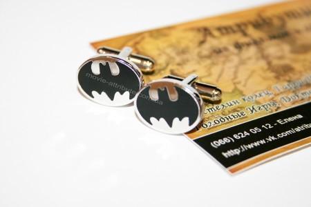 Запонки Бэтмен