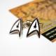 Купить запонки дельты Звездный Путь, Star Trek в Украине