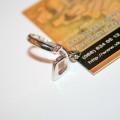 Серебряное кольцо руна ангельская сила