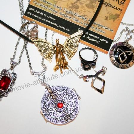 Кулон Изабель, механический Ангел, кулон портал, кулон руна, кольцо руна