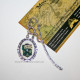 Закладка герб Слизерин, змея