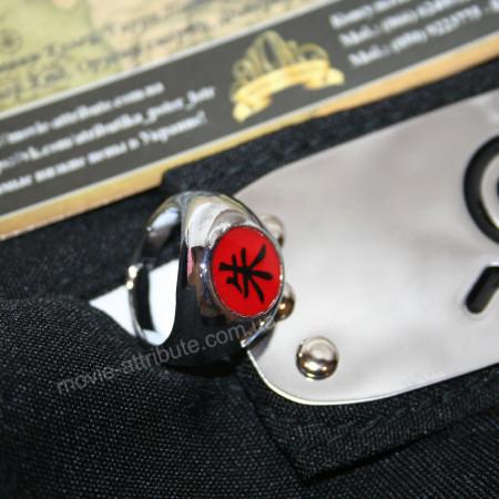 Кольцо Итачи с повязкой