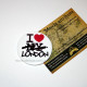 Значок I Love London