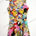 Прикольное платье для девушки Adventure Time