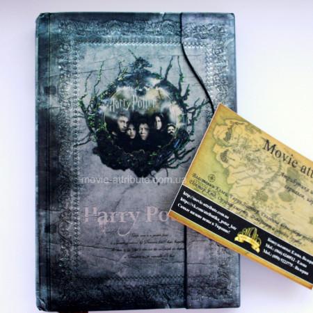 Серый блокнот Гарри Поттер