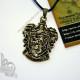 Кулон герб Гриффиндора бронзовый
