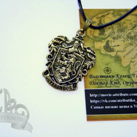 Кулон Гриффиндор цвет бронза