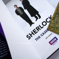 Фото первой страницы книги Sherlock