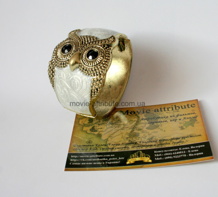 Красивый браслет сова