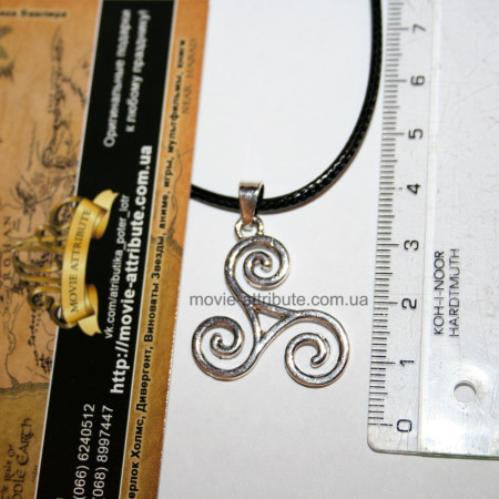 Размер кулона Трискелион
