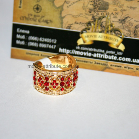 Кольцо Гриффиндор со стразами