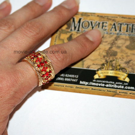 Кольцо Гриффиндор на руке