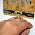 кольцо Белосснежки реальное фото