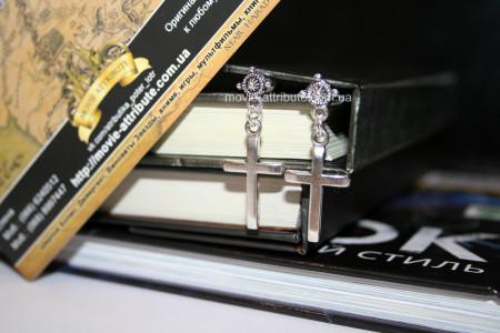 Купить Серьги крестики в Украине