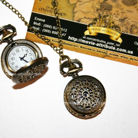 Винтажные часы кулон