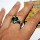 Кольцо с зеленым камнем. Пираты Карибского моря