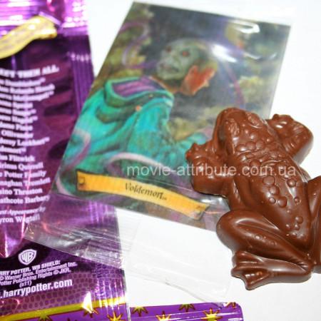 Реальное фото шоколадной лягушки в открытом виде