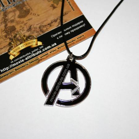 Кулон Мстители. Avengers черный