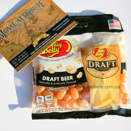 Конфеты со вкусом пива Draft Beer Jelly Belly
