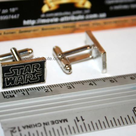 Запонки Star Wars Звездные Войны. Размер