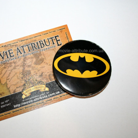 Купить значок Бэтмен в Украине