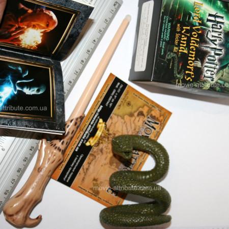 Волшебная палочка Волдеморта, змея Нагайна размер