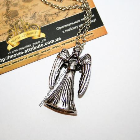 Купить кулон Плачущий Ангел Доктор Кто