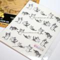 Купить наклейки на ногти с котятами в Украине