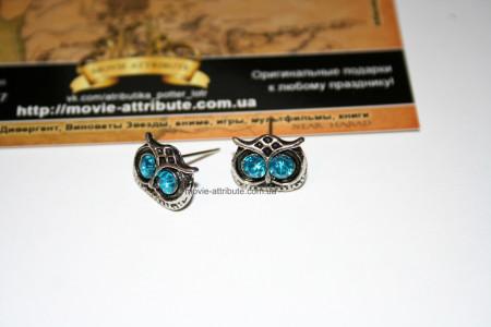 Купить серьги совы в Украине