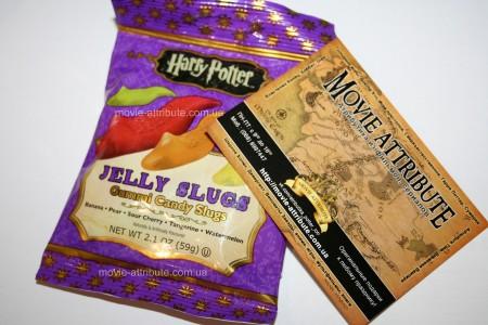 Купить слизни Jelly Belly Harry Potter Jelly Slugs