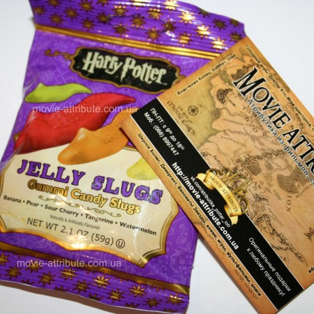 Купить слизни Jelly Belly Harry Potter Jelly Slugs