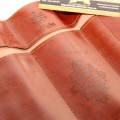 Пенал Косметичка Сумерки коричневый развернутый