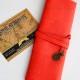 Купить красный футляр для кистей или карандашей Сумерки