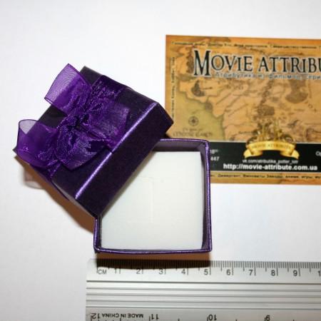 Размер подарочной коробочки для кольца или кулона