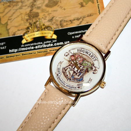 Купить наручные часы Хогвартс беж Украина