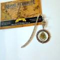 Купить закладку Хогвартс круглую в Украние